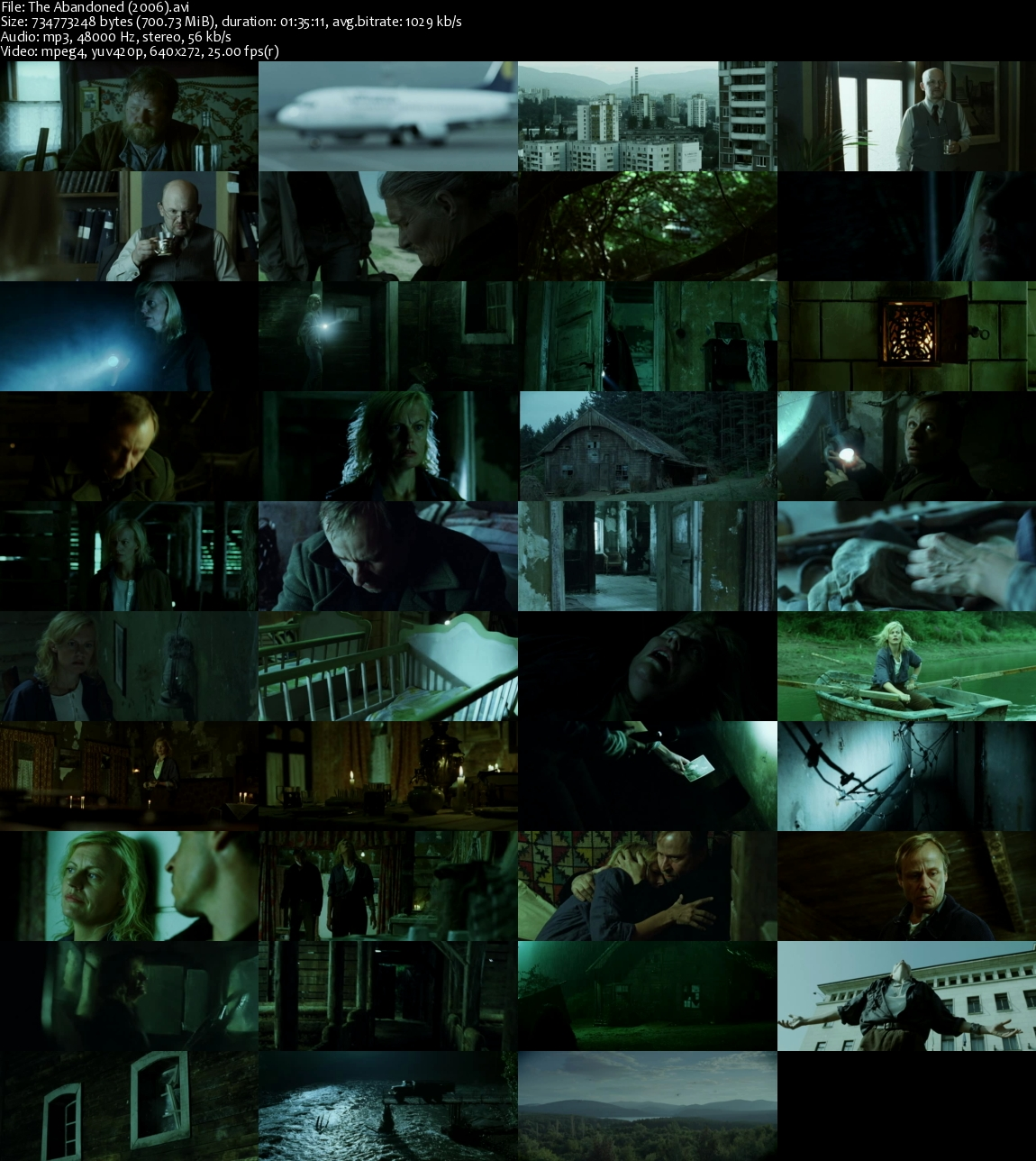 The Abandoned (2006) Dvdrip