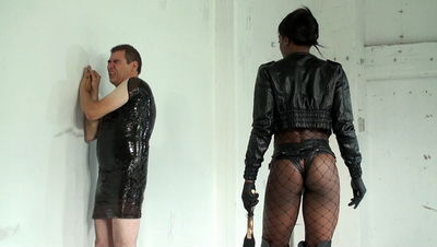 Kinky Mistresses – Punished In Clingfilm Mistress Kiana
