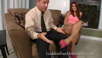 Goddess Foot Domination - Sugar Daddy Denied Goddess Rose