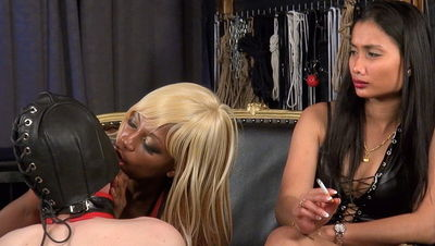 Kinky Mistresses - Smoking Ladies Mistress Ava Black, Mistress Nina