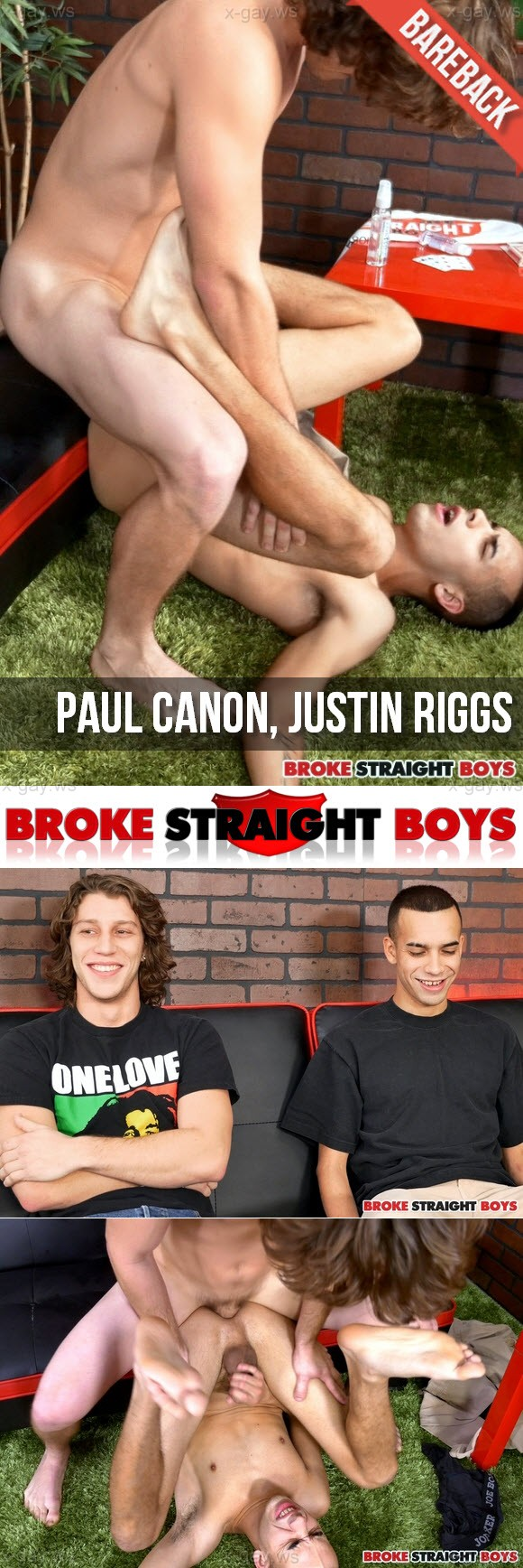 BrokeStraightBoys – Paul Canon & Justin Riggs, RAW