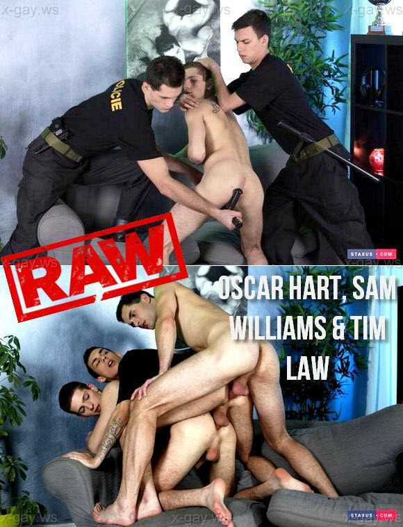 Staxus – Oscar Hart, Sam Williams & Tim Law, Bareback