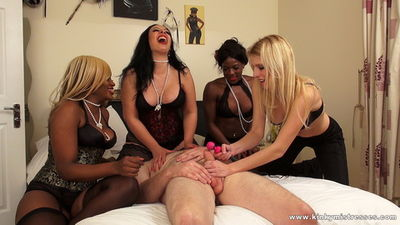 Kinky Mistresses - Four Mistresses in the Bedroom