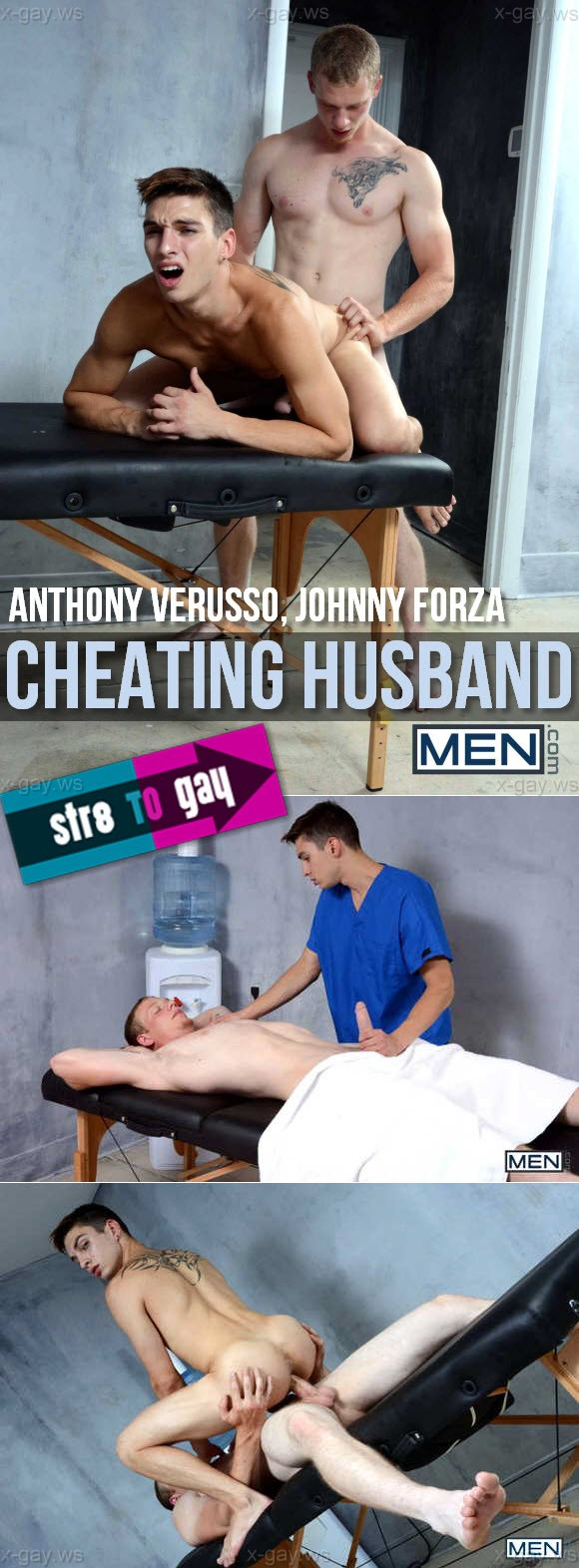 MEN – Str8 to Gay – Cheating Husband, Part 1: Anthony Verusso & Johnny Forza