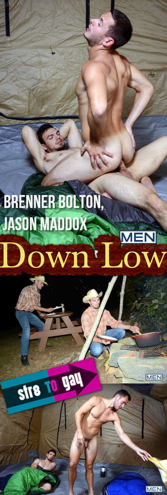 MEN – Str8 to Gay – Down Low, Part 1: Brenner Bolton & Jason Maddox