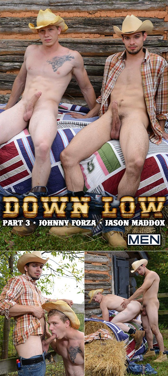 MEN – Str8 to Gay – Down Low, Part 3: Jason Maddox & Johnny Forza
