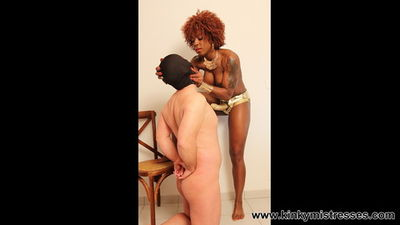 Kinky Mistresses Suck my Cock Bitch Mistress Kiana