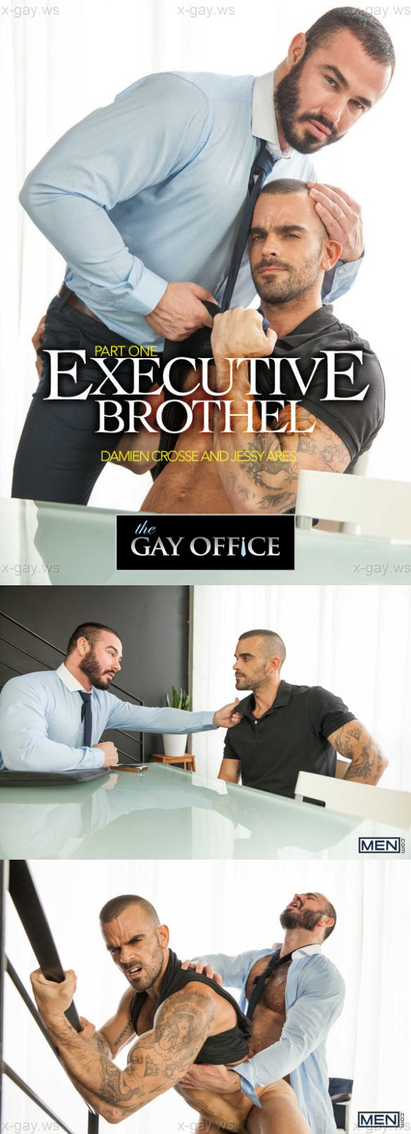 MEN – The Gay Office – Executive Brothel, Part 1: Damien Crosse & Jessy Ares