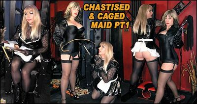 The English Mansion - Chastised & Caged Maid Pt1