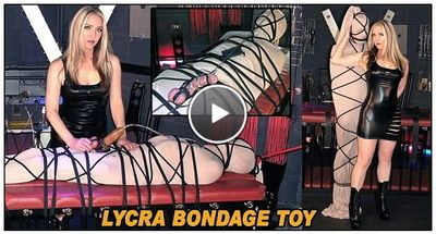 The English Mansion - Lycra Bondage Toy Mistress Sidonia