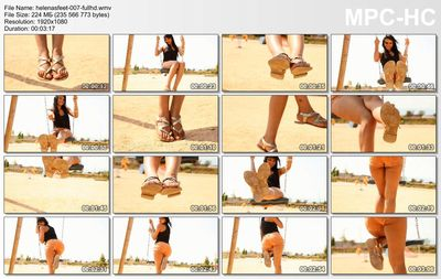 Helenas Feet - Sandals up close