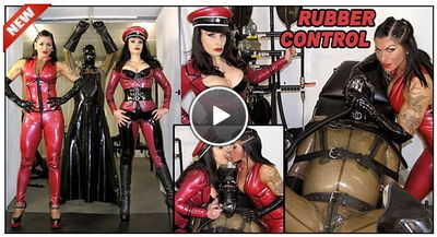 The English Mansion - Rubber Control Miss Velour & Mistress Dometria