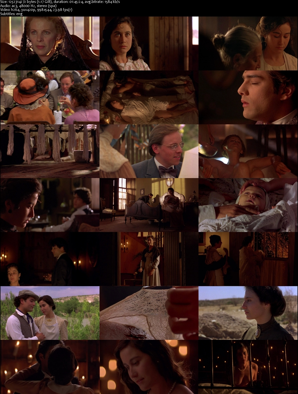report about like water for chocolate movie Like water for chocolate 1992 r 1h 45m when pedro marries her sister, tita throws herself into her cooking -- and discovers she can transfer her emotions through the food she prepares.