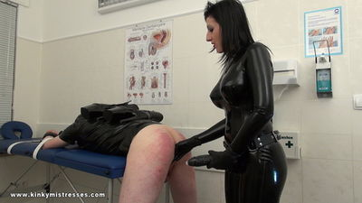 Kinky Mistresses – Mistress Anita Divina – Strap-on Fuck In The White Room