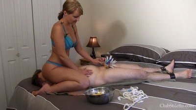 Clubstiletto - Clipped, Smothered and Jerked Mistress Kandy