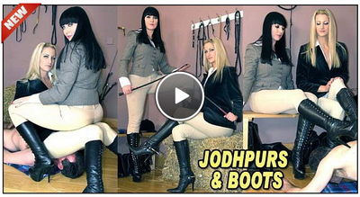 The English Mansion - Jodhpurs & Boots Miss Jessica, Mistress Nikki