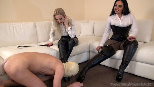Mistress Ezada & Mistress Lilse - Worship our Boots