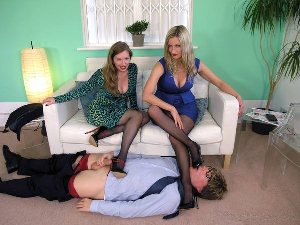TheEnglishMansion - Mistress Nikki, Mistress T - Hawkers Beware! part 1-3 update