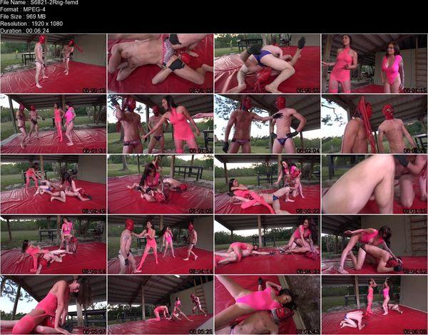 ClubDom - Rilynn, Roxi - Wrestling Humiliation