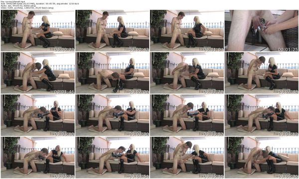 FemmeFataleFilms - Mistress Heather - Tormented Latex Lick part 1-3 update