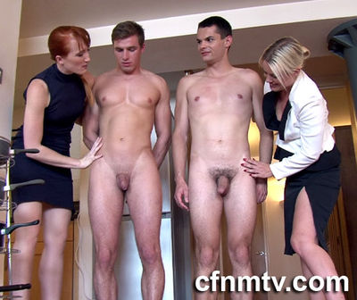CfnmTV - Office Rival Stripped 4