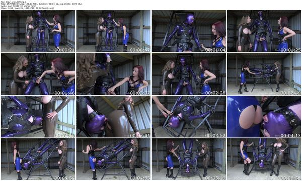 NEW TheEnglishMansion - Mistress Lola Ruin, Mistress T - Slave Spin Cycle part 1-2 update 17.10.2015