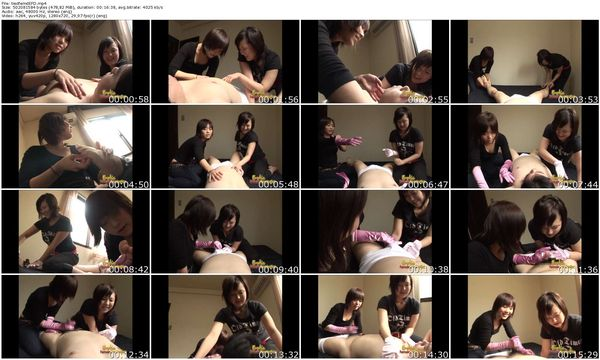 EroticFemaleDomination - Tied up man gets tickled and more by teen asian femdoms