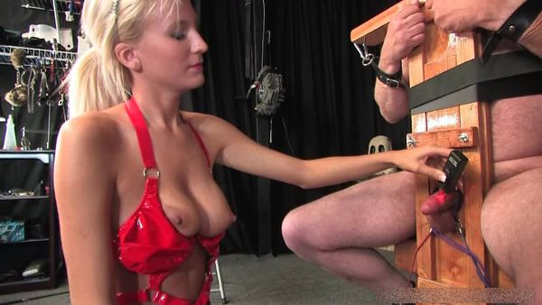 AmberDungeon - Mistress Autumn - Cock Sacrifice - Part 1 of 2