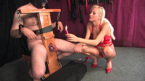 AmberDungeon - Mistress Autumn - Cock Sacrifice - Part 2 of 2