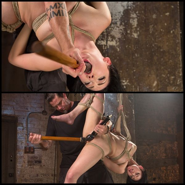 (12.11.2015) Aria Alexander in her First Ever Hogtied Shoot