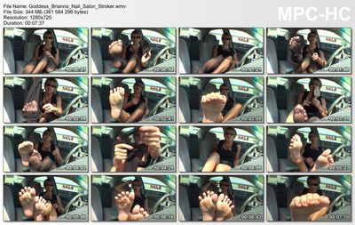 Goddess Foot Domination - Nail Salon Stroker Goddess Brianna