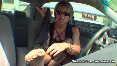 Goddess Foot Domination - Nail Salon Stroker Goddess Brianna
