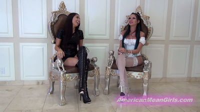American Mean Girls - We Destroy Foot Losers Lives Princess Bella