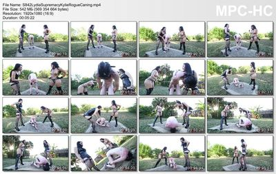Clubdom - Lydia Supremacy & Kylie Rogue Caning