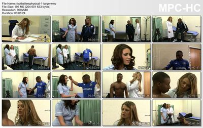CfnmTV - Footballer's physical 1-4
