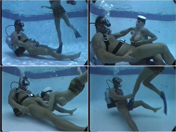 Aquaphilia - Girls Swimming Nude Under Water Rare