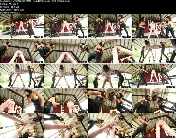ClubDom - Mistress Veronica Cohen, Kylie Rogue - Brutally Caning Your Ass