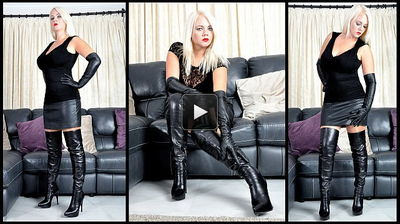 Femme Fatale Films - Bow Down To My Boots Divine Mistress Heather