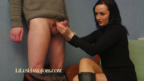 LilusHandJobs - Lilu - Double CumShot with Huge Load of Sperm