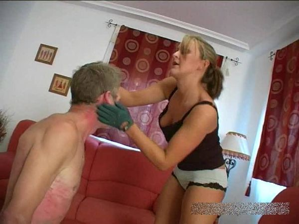 FemdomShed - Princess Amber - An extreme face slapping you wont forget quick
