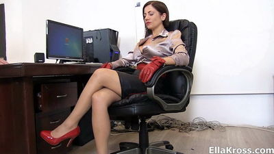 Ella Kros - Spanking The Underling