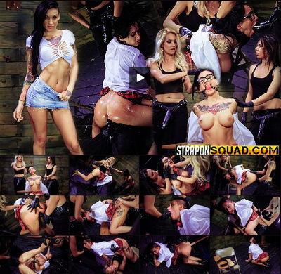 Strapon Squad - Jan 15, 2016 - Alby Rydes, Mila Blaze & Isa Mendez
