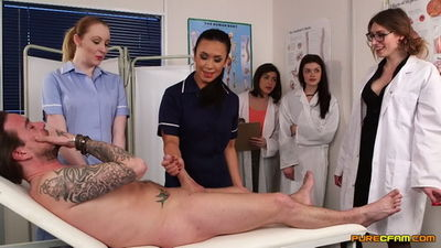 Pure CFNM - Ava Austen, Gail Lyons, Hannah Shaw, Mikaela Forrester, Ruby Temptations - Student Doctors