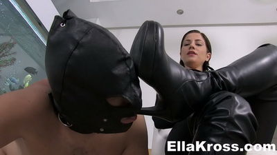 Ella Kross - Your Cock Belongs To My Boots
