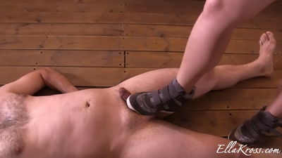 Ella Kross - Can This Slave Cum after I Torture His Cock and Balls?