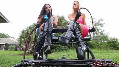 Clubdom - Alexis Fawx & Michelle Lacy POV