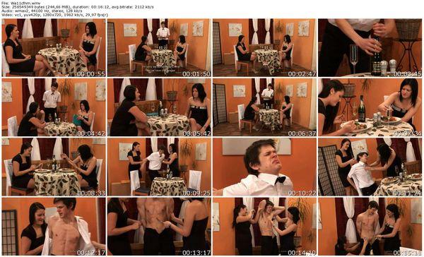 CFNMEu - Waiter tasting part 1