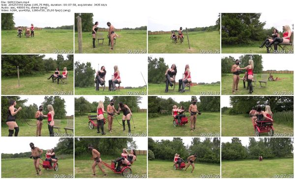 TheEnglishMansion - Domina Alexandra Snow, Mistress Sidonia - Situation Vacant Pt2 part 1-4 update