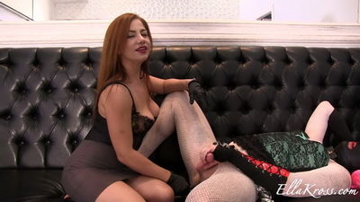 Ella Kross - Making My Sissy Slut Drink Her Own Cum!