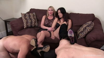 Clubstiletto - Miss Jasmine, Mistress Kandy - Dirty Tasks for Father and Son